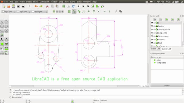 Free CAD drawing software