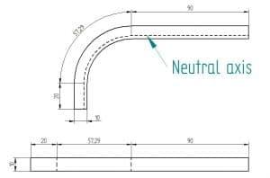 Sheet metal k factor