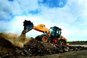 Quarry loader
