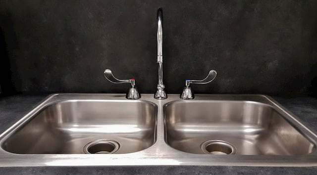 Stainless steel surface finish 1J kitchen sink