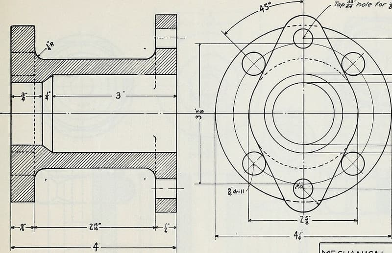 Engineering Drawing Views Basics Explained Fractory
