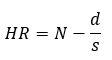 Rockwell hardness calculation formula