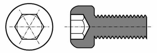 Socket head bolt