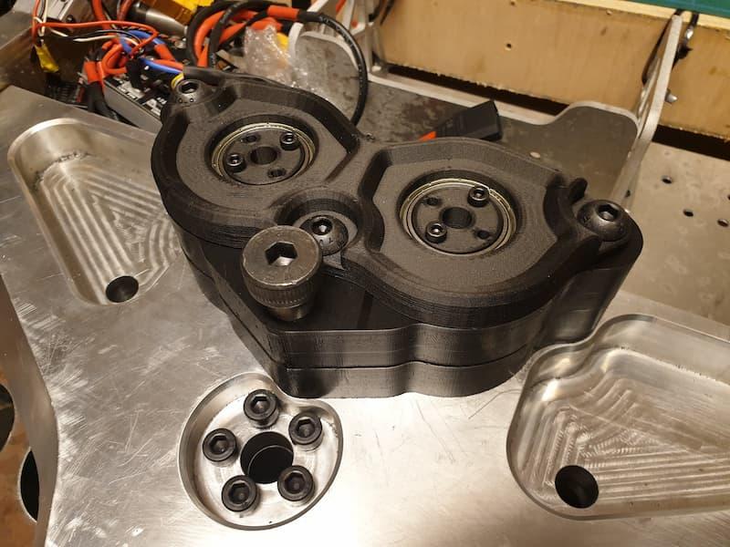 Battlebots CNC machined parts