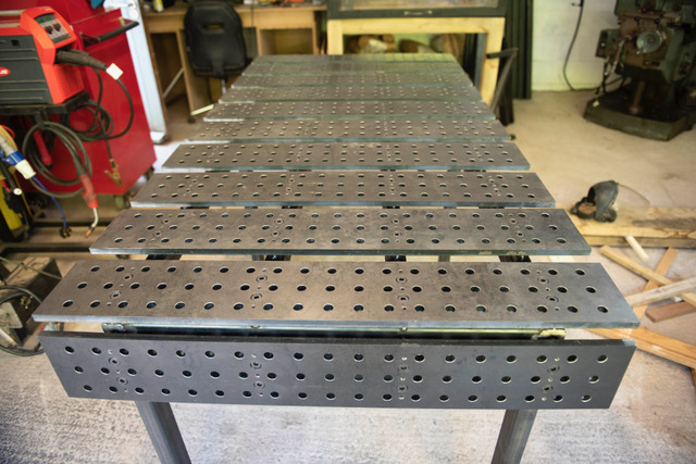 Welding table project