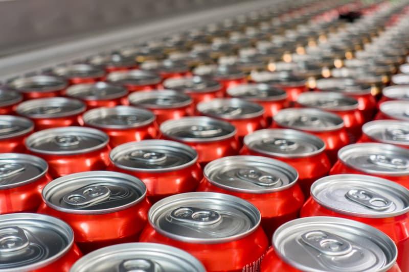 aluminium soda cans