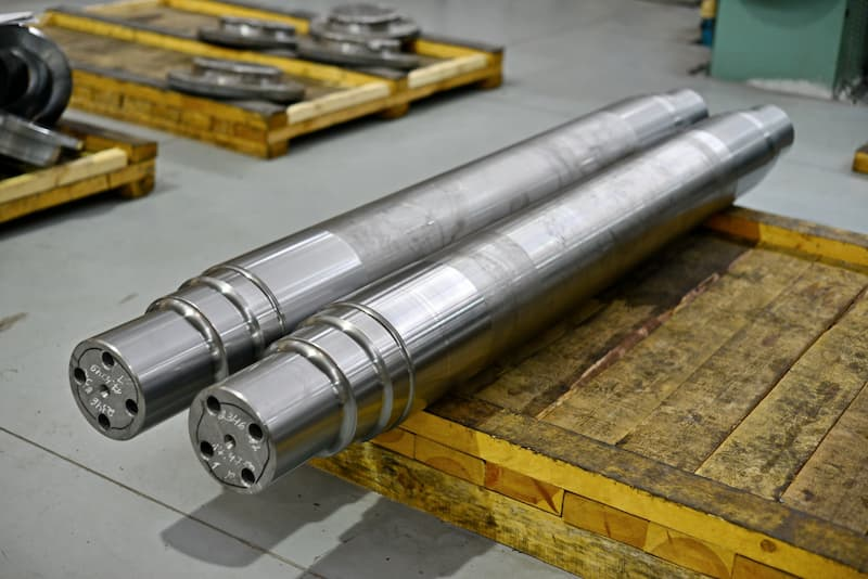 two shafts